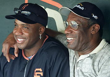 Fantasy Baseball Stars -- Barry and Bobby Bonds